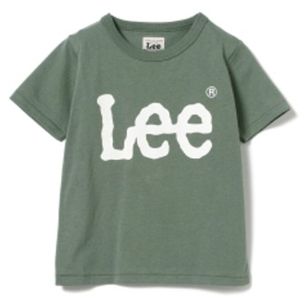 Lee / ベーシック ロゴTシャツ キッズ Tシャツ OLIVE/OD 110
