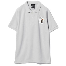 【SPECIAL PRICE】BEAMS T / Trump Bear Polo メンズ ポロシャツ GREY L