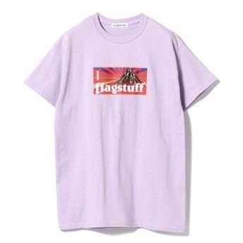 F-LAGSTUF-F / BOX LOGO Tee メンズ Tシャツ PURPLE S