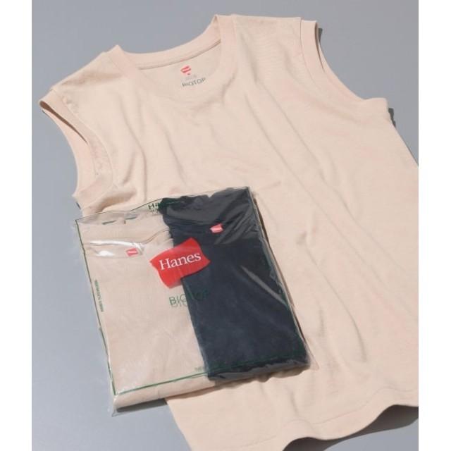 アダム エ ロペ ファム/【Hanes FOR BIOTOP】Sleeveless T-Shirts(カラー)/ベージュ/0