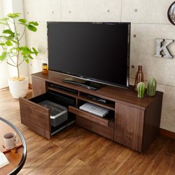 プリンターも収納できるテレビ台