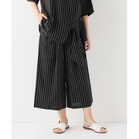 JOURNAL STANDARD 【OSKAR/オスカー】Striped culottes:パンツ ブラック S