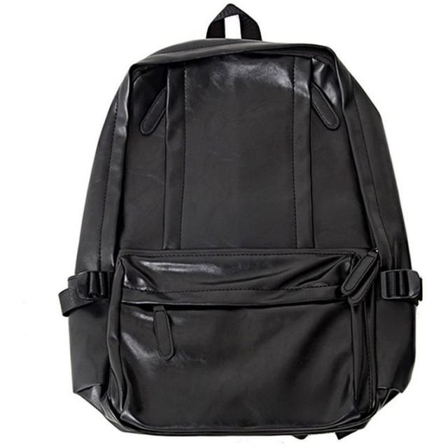 シルバーバレット VICCIPUレザーバックパック メンズ ブラック FREE(フリーサイズ) 【SILVER BULLET】