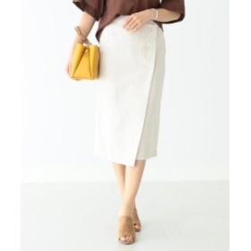【カタログ掲載】B:MING by BEAMS / 綿麻ラップスカート 19SS レディース その他スカート IVORY S