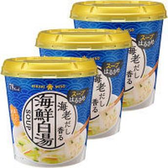 ひかり味噌 カップスープはるさめ 海鮮白湯 3個