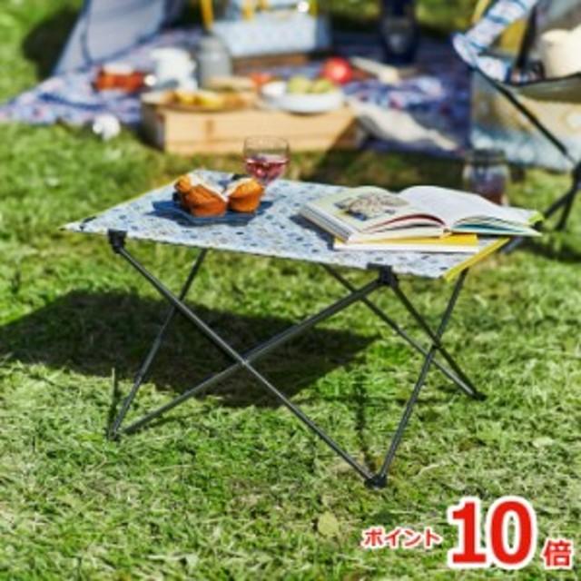 【ポイント10倍】MOOMIN ムーミン 折りたたみ テーブル 収納バッグ付き | レジャーテーブル 折り畳みテーブル 軽量 机 携帯 コンパクト