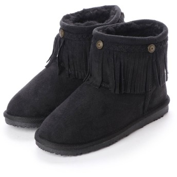 グリップグラップ GRIP GLAPP Jr REAL SHEEP FRINGE BLK 18 (BLACK)