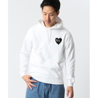 【SPECIAL PRICE】BEAMS T / HEARTED パーカ メンズ パーカー WHITE S