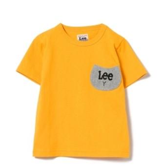Lee / CATポケット Tシャツ キッズ Tシャツ MUSTARD 90