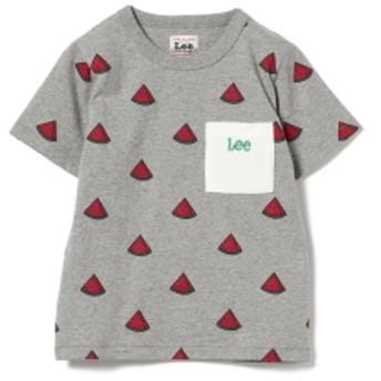 Lee / フルーツ プリントTシャツ キッズ Tシャツ GREY 80
