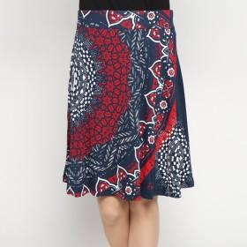 デシグアル Desigual スカートショート (ブルー)