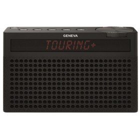 Geneva 875419016672JP ブラック Touring S+ [Bluetoothスピーカー(バッテリー内蔵/FMラジオ機能付き)]