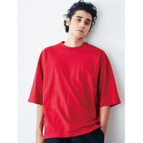 【50%OFF】 コトリカ バックドルマンBigTシャツ メンズ レッド L 【COTORICA.】 【セール開催中】
