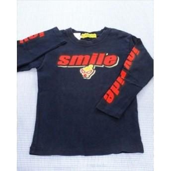 ヒステリックミニ HYSTERIC mini 長袖Tシャツ ロンt 110cm 紺系 トップス キッズ 男の子 女の子 子供服 通販 買い取り
