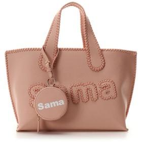 サマンサタバサ 【ドラマ着用】サマタバトートバッグ 大【Revival Collection】 ピンク