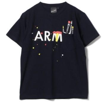 【SPECIAL PRICE】BEAMS T / Pocket Illustration Tee メンズ Tシャツ NAVY S