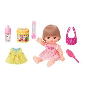 メルちゃん お人形セット おしょくじ&おせわセット (人形付きセット)