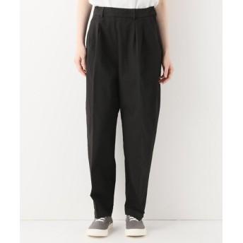 journal standard luxe 【POMANDERE/ポマンデール】 cotton gabardine tuck pants◆ ブラック 42