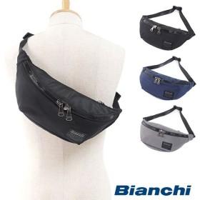 Bianchi ビアンキ ウエストボディバッグ TBNY01