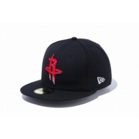 ニューエラ(NEW ERA) 59FIFTY NBA ヒューストン・ロケッツ ブラック × チームカラー 12019018 メンズ