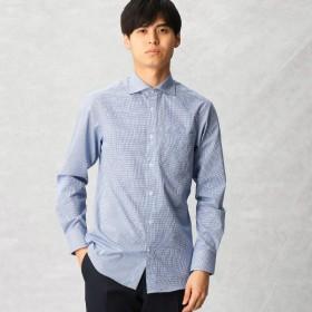 [マルイ] 【形態安定】ギンガムチェック ドレスシャツ/コムサメン(COMME CA MEN)