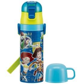 子供用 水筒 /  保温 保冷 超軽量 2WAYステンレスボトル 430ml トイストーリー19