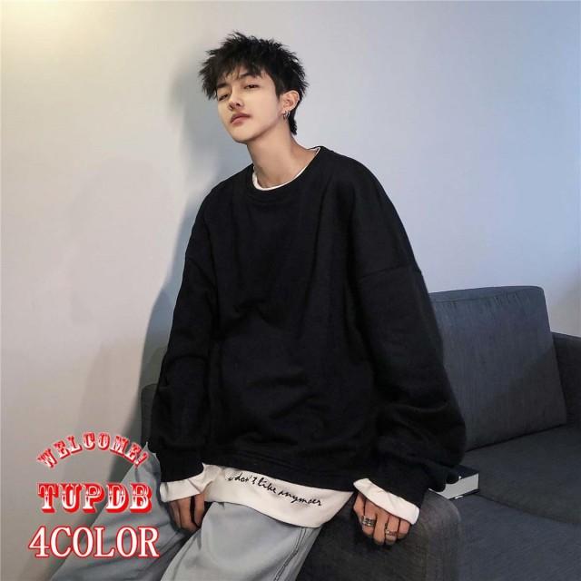 2019新品 韓国ファッション メンズ パーカー 男女兼用 長袖 アウター トップス 流行 トレンド 原宿風 人気商品 上質4color M/L/XL