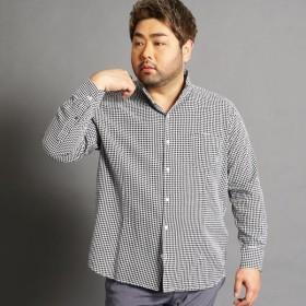 [マルイ] <大きいサイズ>コットンカラーシャツ/ハイダウェイ(大きいサイズ)(HIDEAWAYS)