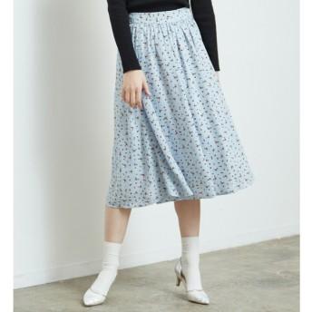 [マルイ]【セール】花柄ギャザースカート/ロペピクニック(ROPE' PICNIC)