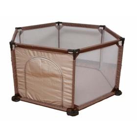 ソフトメッシュサークル(6角形) JTC (D)ベビー用品 赤ちゃん ベビーサークル プレイヤード セーフティ用品 安全 子供用サークル