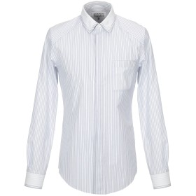 《セール開催中》MAISON MARGIELA メンズ シャツ ホワイト 48 コットン 100%