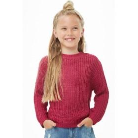 ニット・セーター - FOREVER 21【KIDS】 ラウンドネックリブセーター