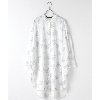 MARcourt / マーコート flower print shirt OP