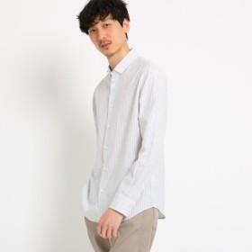 [マルイ]【セール】シャドーリーフストライプシャツ[ メンズ トップス シャツ ボタンダウン ]/タケオキクチ(TAKEO KIKUCHI)