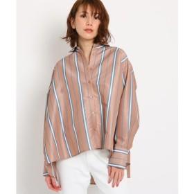 OZOC / オゾック [洗える]ストライプゆるシャツ