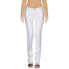 《セール開催中》RE-HASH レディース パンツ ホワイト 30 コットン 98% / ポリウレタン 2%