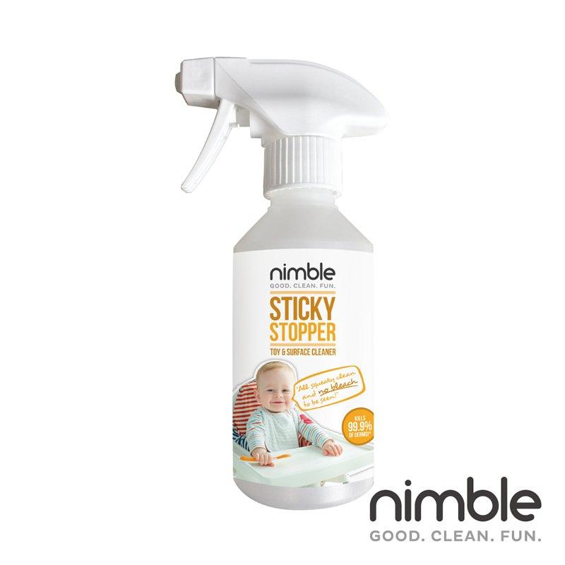 英國靈活寶貝 Nimble Sticky Stopper 隨身萬用殺菌清潔液 250ml