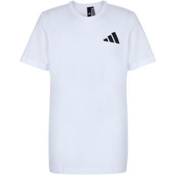 《期間限定セール開催中!》ADIDAS メンズ T シャツ ホワイト M コットン 100% THE PACK Q1 GFX