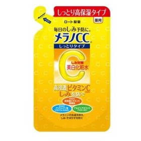 ロート製薬 メラノCC 薬用しみ対策美白化粧水 しっとりタイプ つめかえ用 170mL