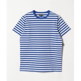 アニエスベー J008 TS ボーダーTシャツ メンズ ブルー 2 【agnes b.】