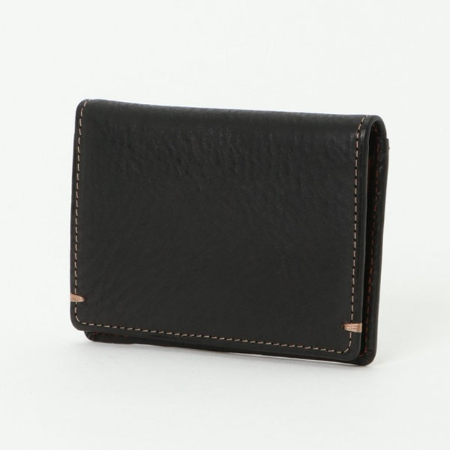 イタリアカードパスケース(メンズ) クロ