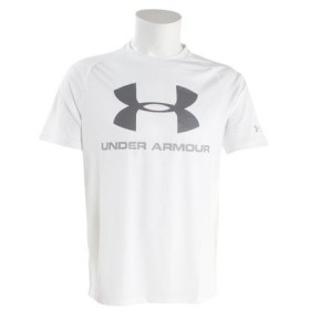 アンダーアーマー(UNDER ARMOUR) テックビッグロゴ 半袖Tシャツ #1348557 WHT/GPH AT (Men's)