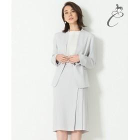 自由区 / ジユウク 【Class Lounge】DOUBLE GEORGETTE スカート