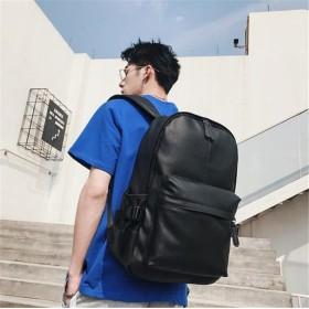 追加 限定発売 高品質で 正規品 韓国ファッション/大人気/おしゃれな/簡約/百掛け/PUレザー/デイバッグ/リュックサック/メンズ/学生