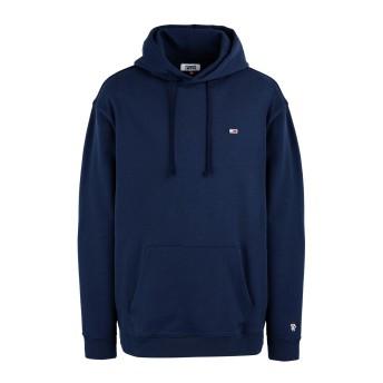 《セール開催中》TOMMY JEANS メンズ スウェットシャツ ダークブルー XL コットン 100% TJM TOMMY CLASSIC