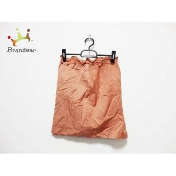 ジャスグリッティー JUSGLITTY スカート サイズ1 S レディース オレンジ スペシャル特価 20190517【人気】
