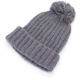 SHOO・LA・RUE(シューラルー) ループヤーンリブニット帽
