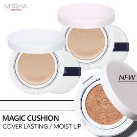 ★安心・最安値★[2018 NEW] ミシャ マジッククッションモイストアップ/カバーラスティング MISSHA Magic Cushion Moist Up/Cover Lasting