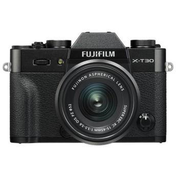 《新品》 FUJIFILM (フジフイルム) X-T30 XC15-45mmレンズキット ブラック[ ミラーレス一眼カメラ   デジタル一眼カメラ   デジタルカメラ ]