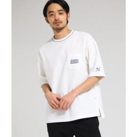BASE STATION / ベースステーション 【WEB限定】 ビッグシルエット Tシャツ メンズ カノコ 半袖Tシャツ 【BSCL】